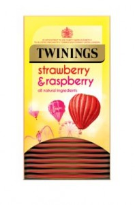 Twinings Strawberry & Raspberry Infusion Tea